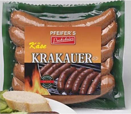 Käsekrakauer Grillwurst